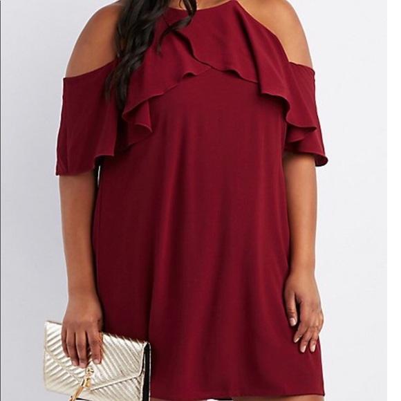 Plus size women's semi-formal dress
